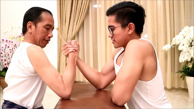 Jokowi Adu Panco Lawan Kaesang