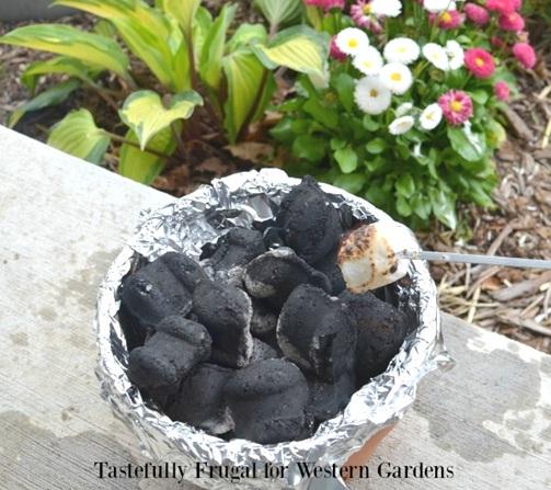 6. Tungku api dari pot terakota