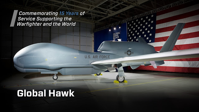 GLOBAL HAWK MARKS 15 YEARS OF SUPPORTING WARFIGHTERS