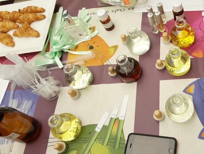 taller para niños de creación perfume en museo perfume andorra