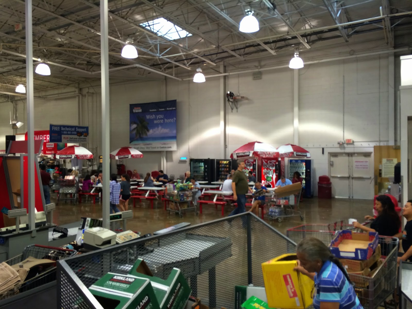 springfield things costco above the costco eatery it certainly isn t the most r tic destination for a meal and i wonder how hygienic those table tops are but as a family we