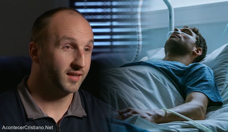 Hombre clama a Dios en hospital