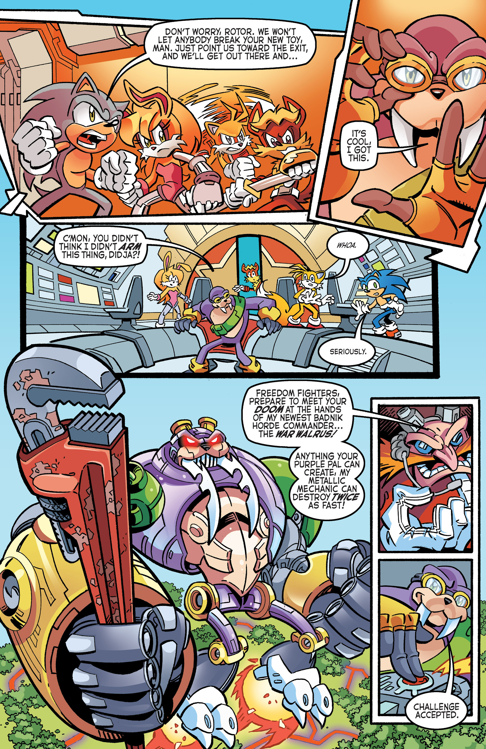 Read online Sonic The Hedgehog comic -  Issue #265 - 21