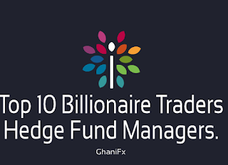 Top 10 Billionaire Traders/ Hedge Fund Managers.