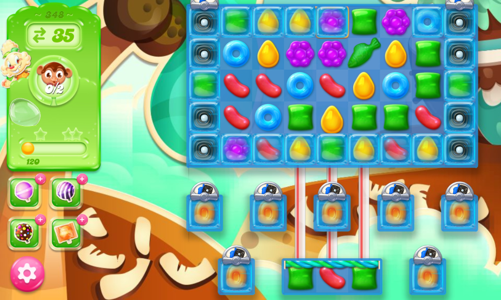 Candy Crush Jelly Saga 348
