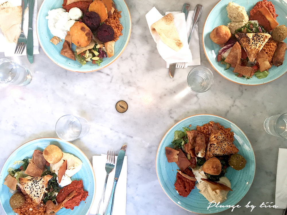 Lunch at Babel Deli - Plunge by tiia