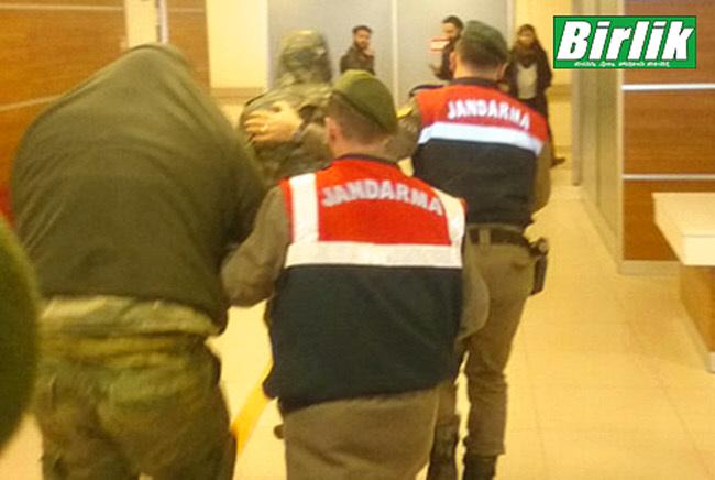 Η μεταφορά των Ελλήνων στρατιωτών στο δικαστήριο της Ανδριανούπολης