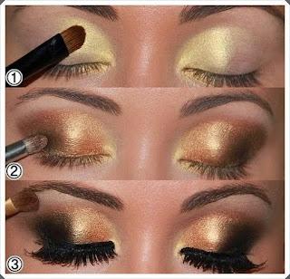 Çeşitli Göz Makyajı Yapım Örnekleri 7