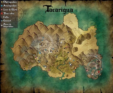 Risen 3, Titan Lords, Tacarigua Map