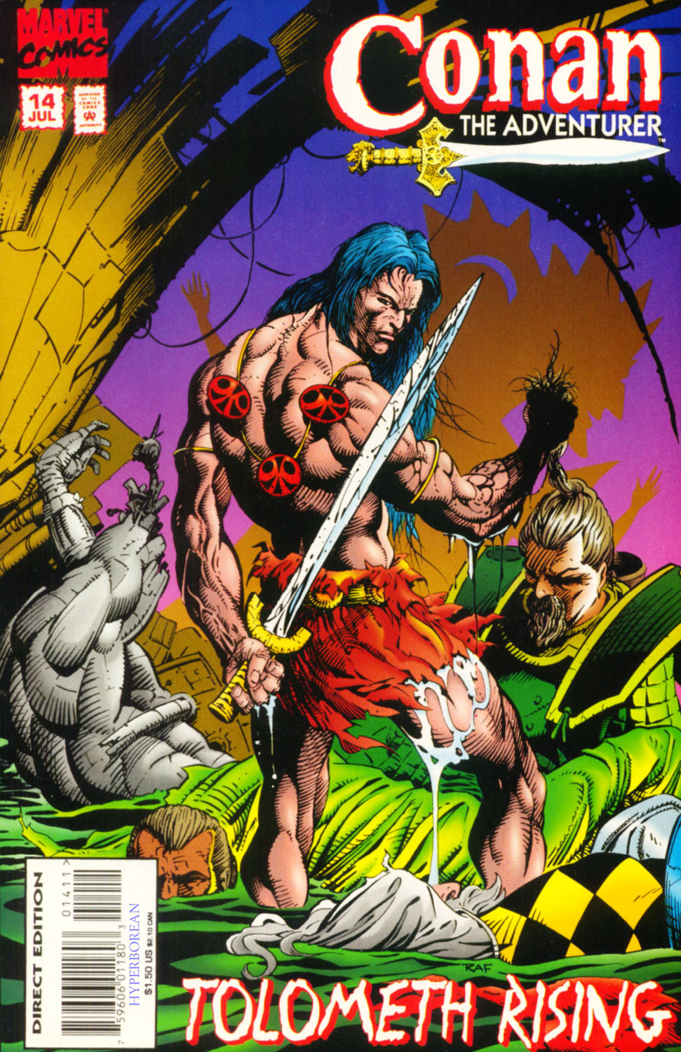 Read online Conan the Adventurer comic -  Issue #14 - 1