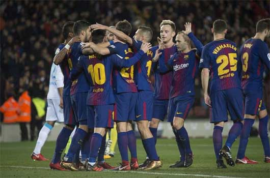 Video Barcelona - Deportivo: Ban bật siêu đẳng, tuyệt đỉnh thăng hoa