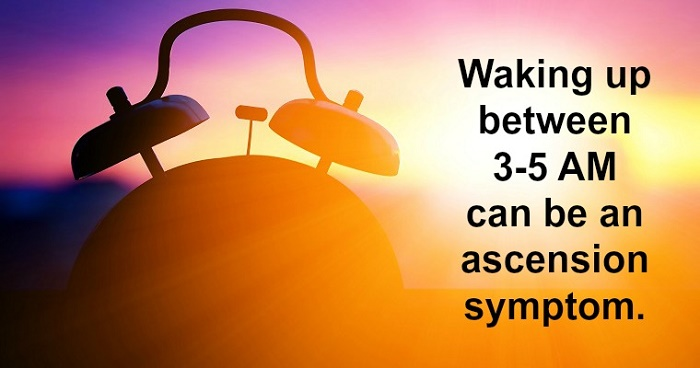 The significance of 3am waking up