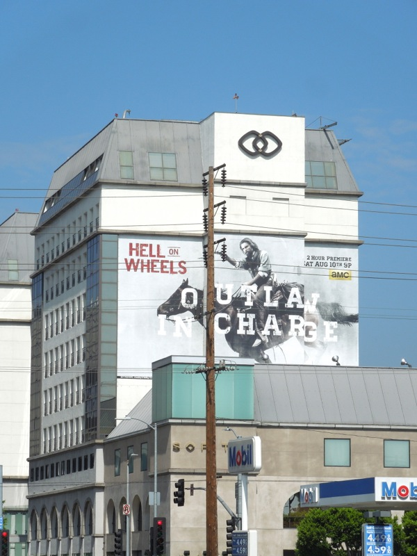 Giant Hell on Wheels season 3 billboard