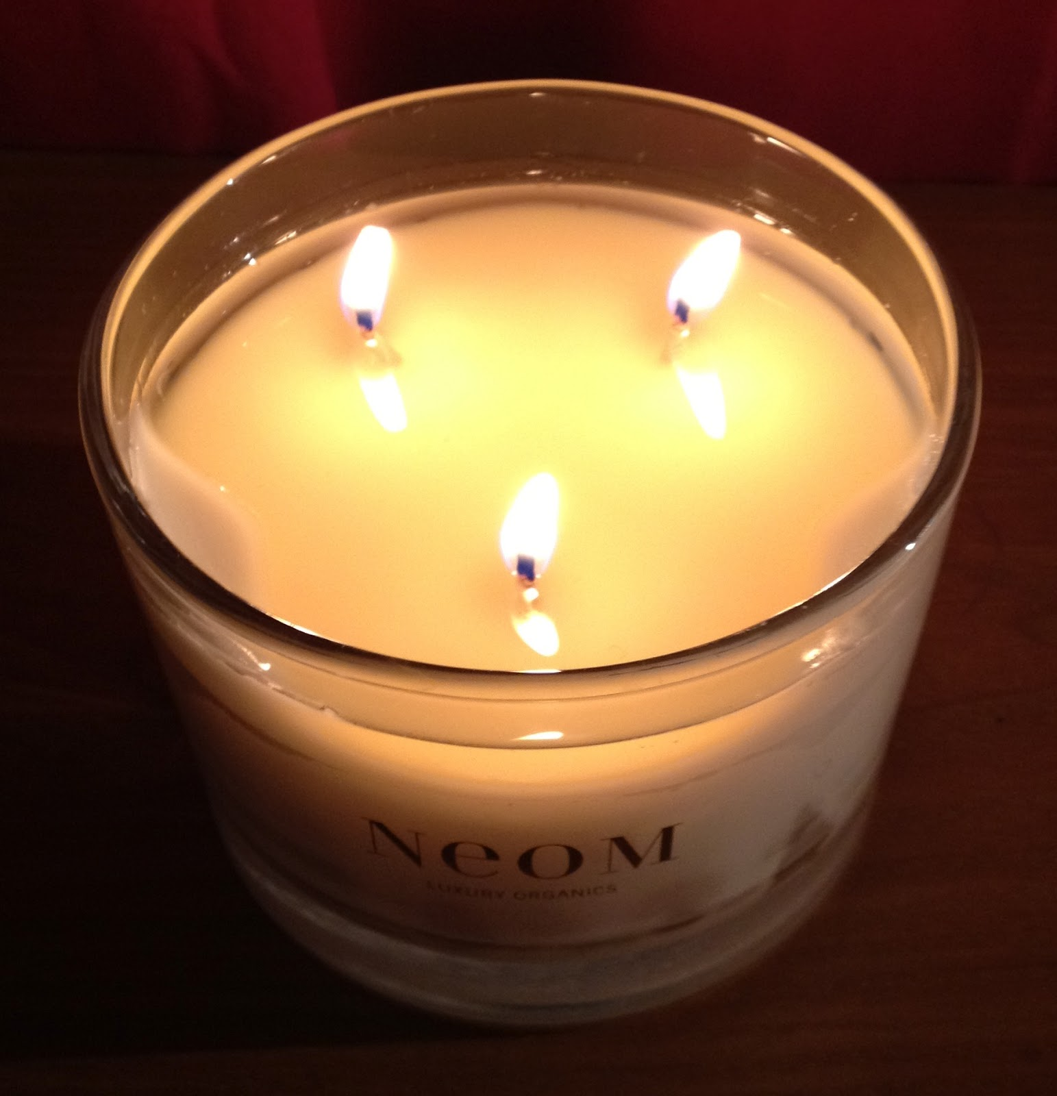 Neom Tranquility 3 Wick Candle - Beauty Geek UK