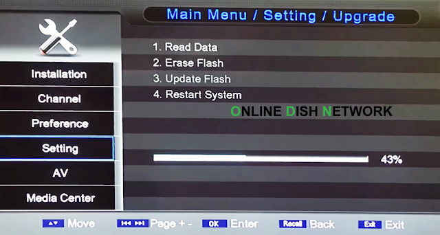 echqlink 777 HD Receiver software updation