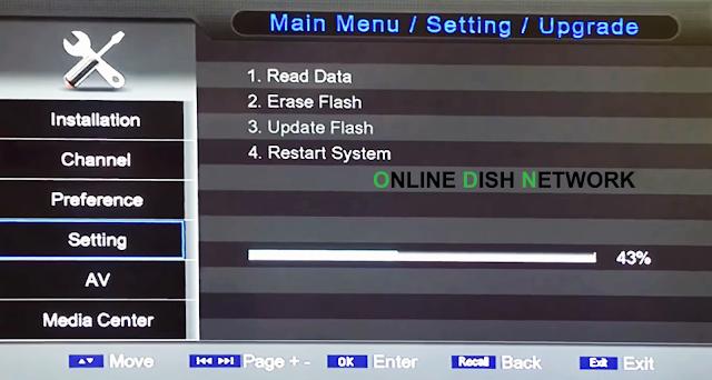 echqlink 777 HD Receiver software updation