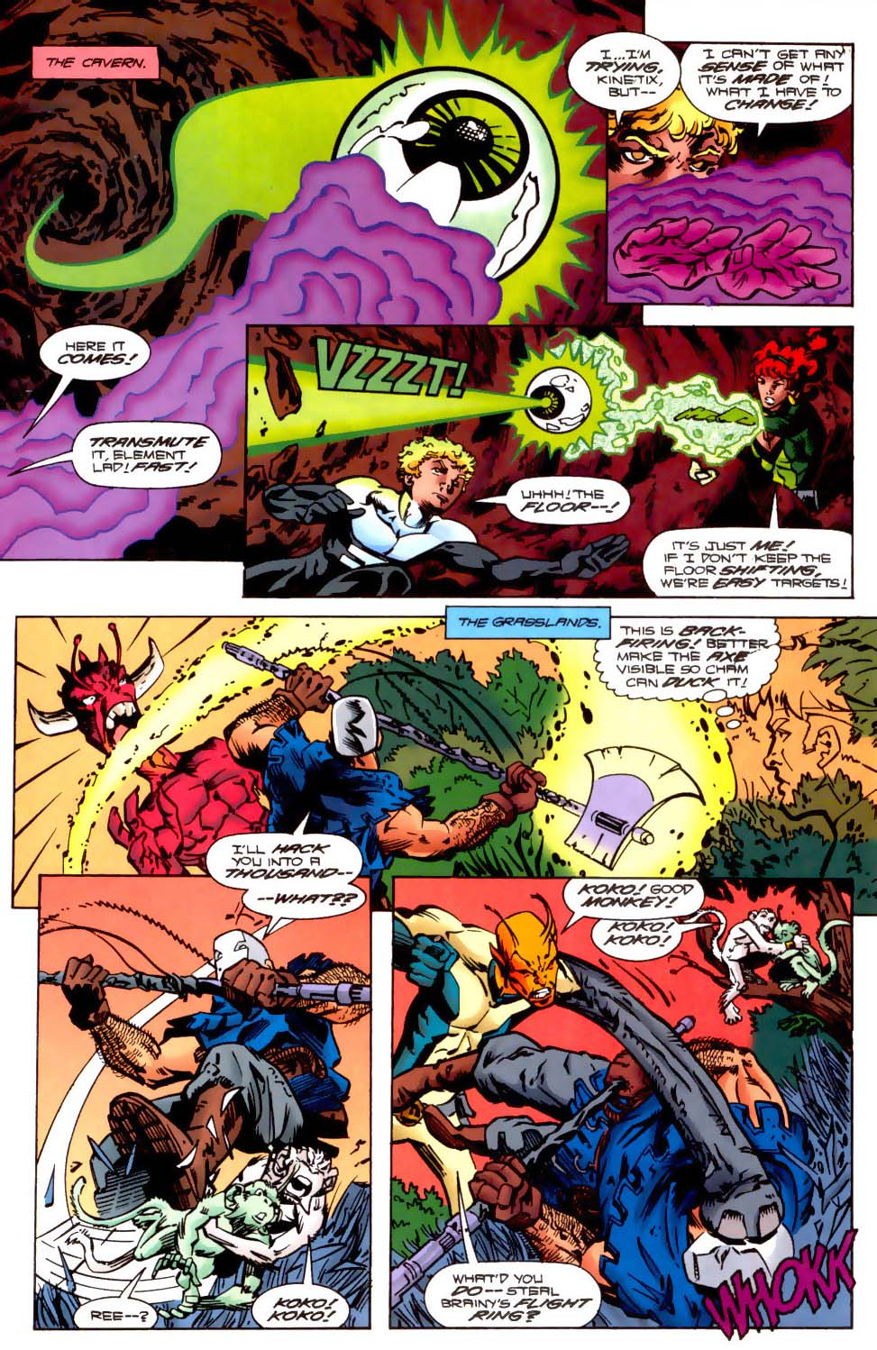 Legion of Super-Heroes (1989) 121 Page 17