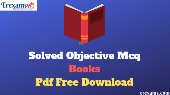 Solved Objective Mcq Civil Engineering Books Pdf Free Download
