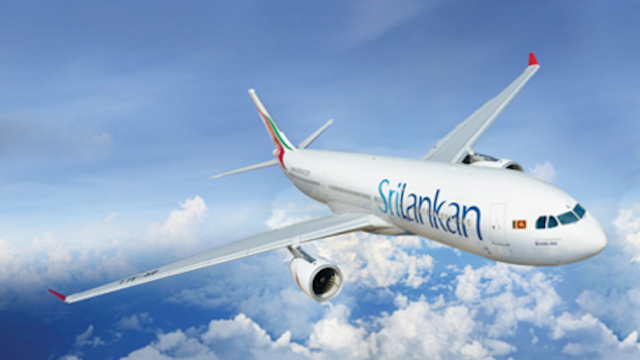 SriLankan Airlines 'World's Leading Airline to the Indian Ocean' for the third year