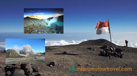 Mount Semeru Trekking, Bromo and Ijen Volcano Tour Package 5 days