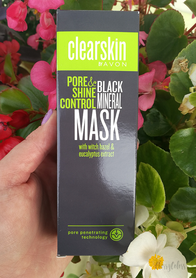 Avon Pore & Shine control Black Mineral Mask