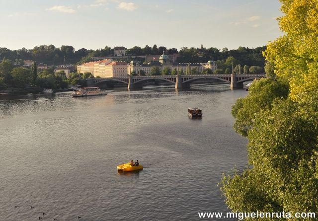 Río-Moldava-Praga