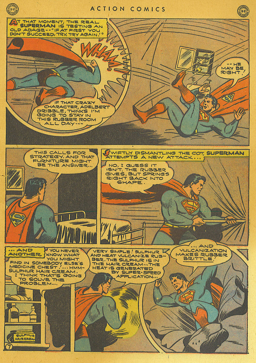 Read online Action Comics (1938) comic -  Issue #74 - 9