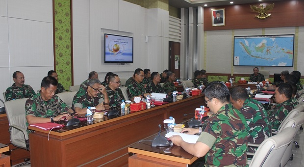 Kapuskersin TNI Buka Rakornis Kerjasama Internasional