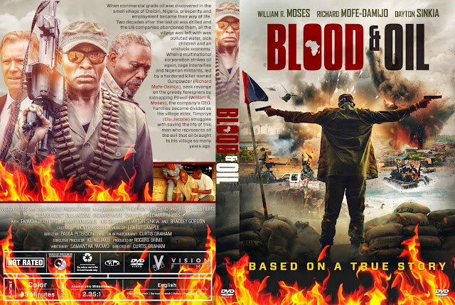 Blood & Oil DVD DVD Cover