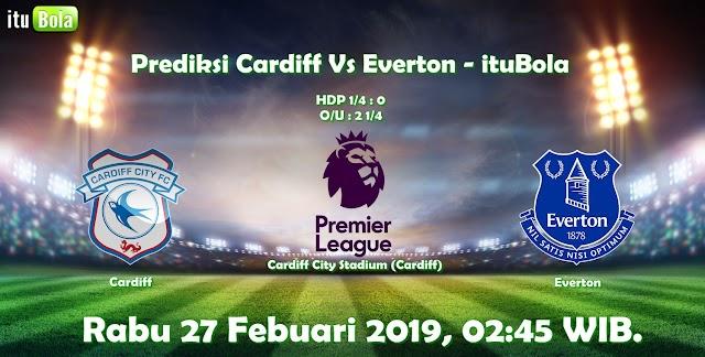 Prediksi Cardiff Vs Everton - ituBola