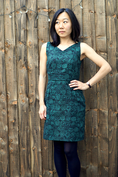 Vintage Vogue 1137 Green Liberty Dress