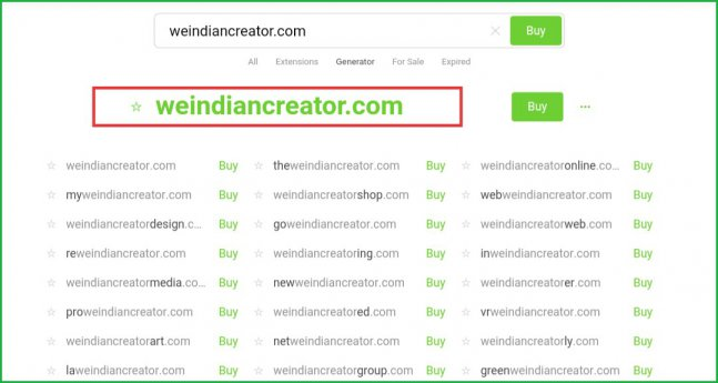 weindiancreator-website