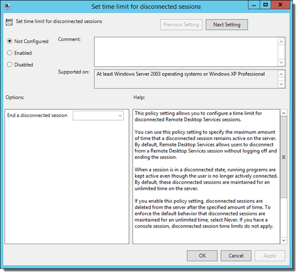 How to Automatically Log Off idle Users in Windows - TECHSUPPORT