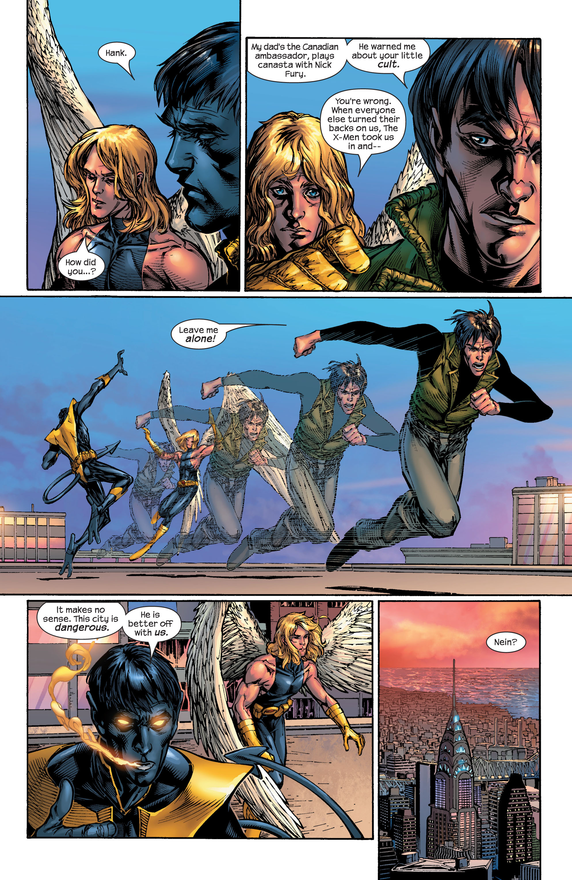 Read online Ultimate X-Men comic -  Issue #46 - 7