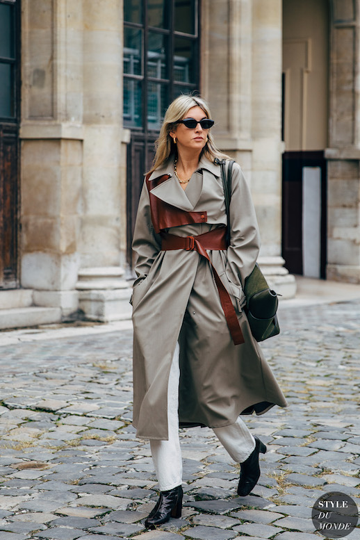 25 Modern Trench Coats To Purchase Now  — Camille Charriere Street Style
