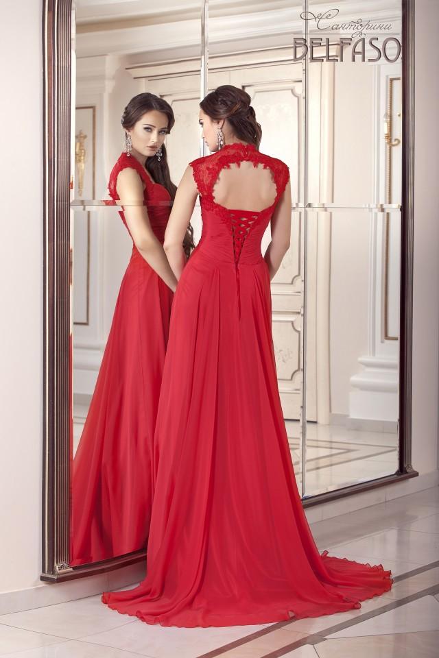 vestidos largos de encaje