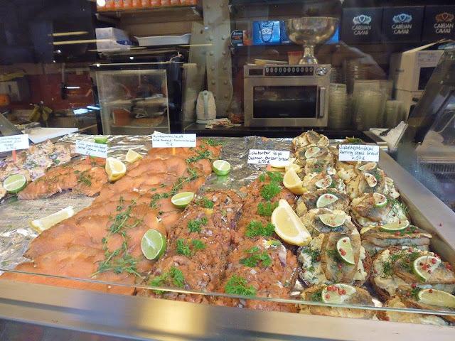 El pescado fresco una de las grandes pasiones de los finlandeses (@mibaulviajero)