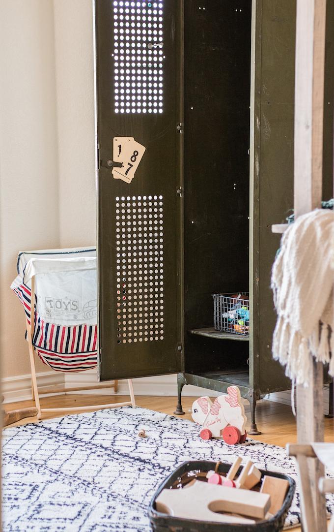 Binnenkijken | Peuterkamer vol kringloopvondsten - Woonblog StijlvolStyling.com