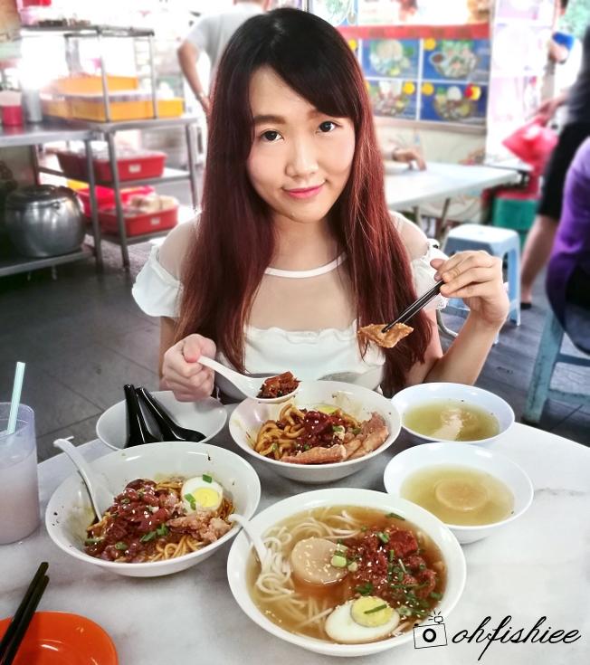 Oh fish iee fook kee taiwanese food hup may coffee shop for Food bar kota damansara
