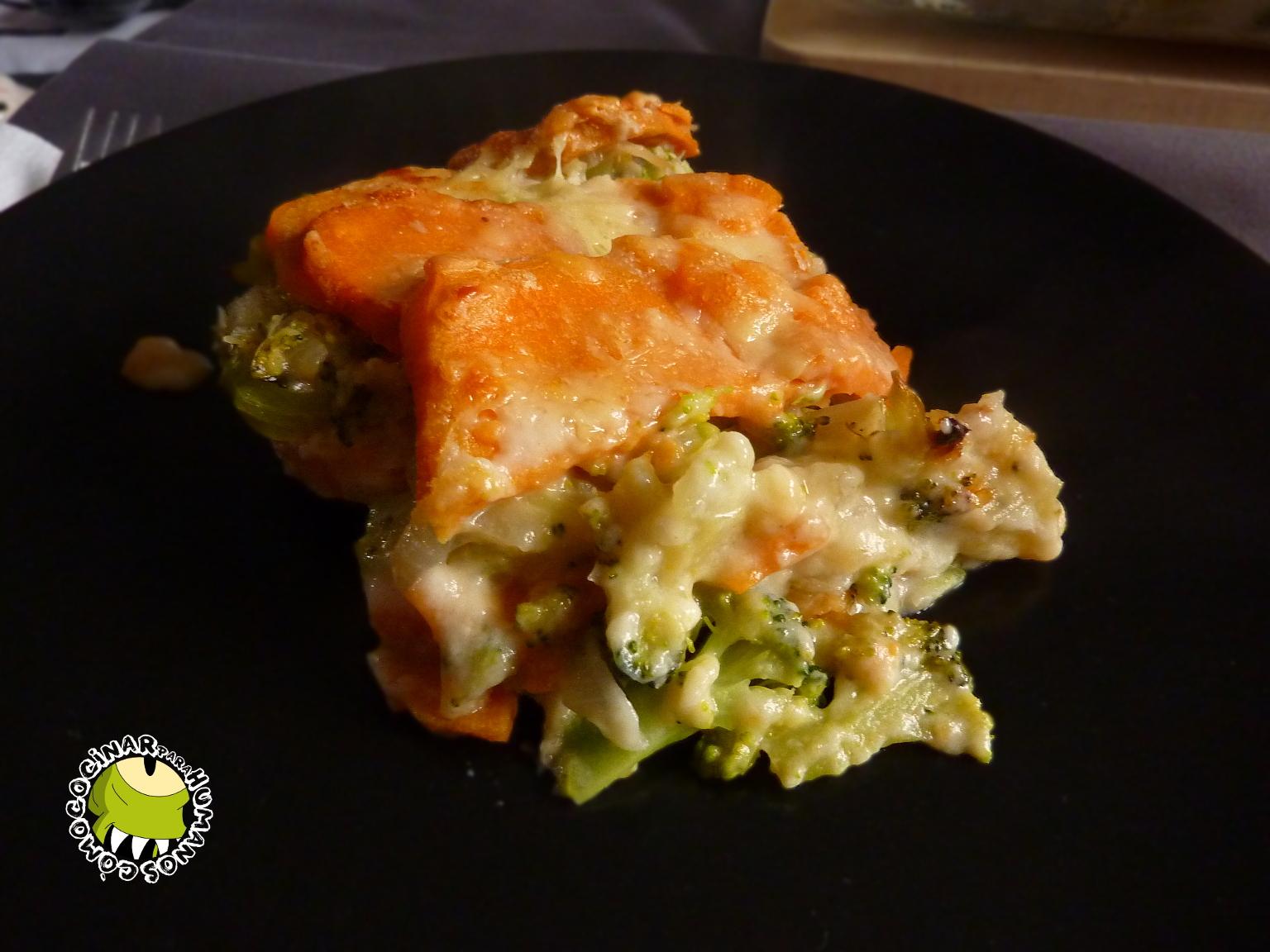 Gratinado De Brócoli Y Boniato