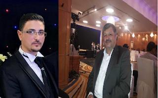 احمد عبدالمجيد احمد الصمادي ووالده