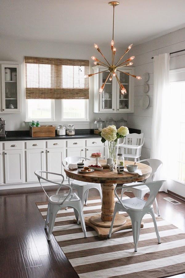 A Sputnik Chandelier for my kitchen  House Seven designbuild