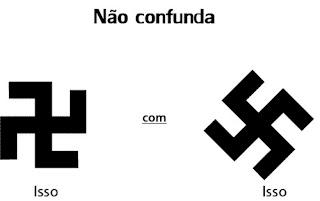 suásticas nazista e budista