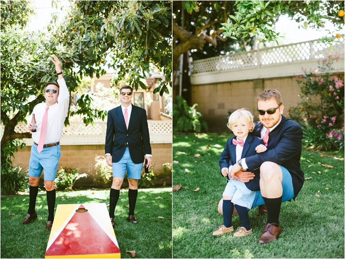 Reception lawn games | Sargeant Creative