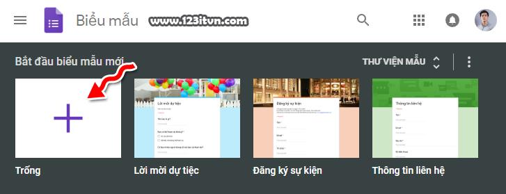 Tạo và sử dụng Google Form