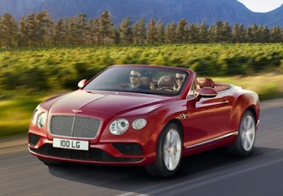 Bentley: top speed: over 180 mph and 24 highway miles/gallon