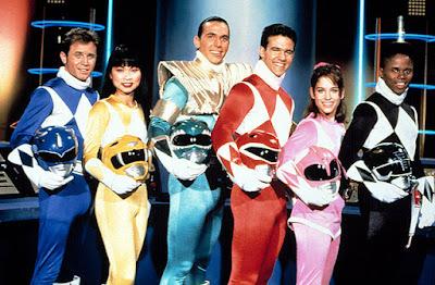 Throwback - Power Rangers First Season. Pelakon Asal Powers Rangers, Power Rangers Pink, Merah, Hitam, Kuning dan Biru, Original Power Rangers, Pelakon Asal Siri TV Power Rangers, Pink Ranger, Amy Jo Johnson,