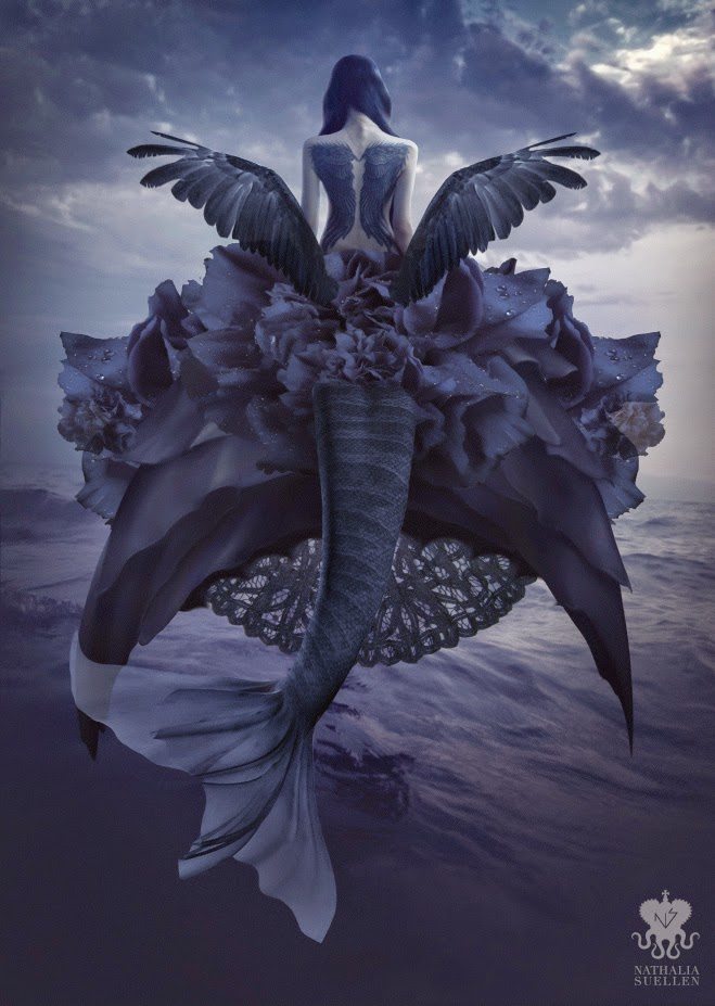 18-Ghost-Siren-Nathalia-Suellen-Photography-Digital-Painting-To-Die-For-www-designstack-co