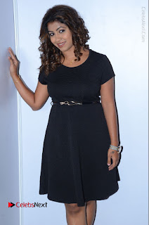 Tollywood Actress Geethanjali Thasya Latest Pos in Black Short Dress at Nanna Nenu Na Boyfriends Audio Launch  0016.JPG