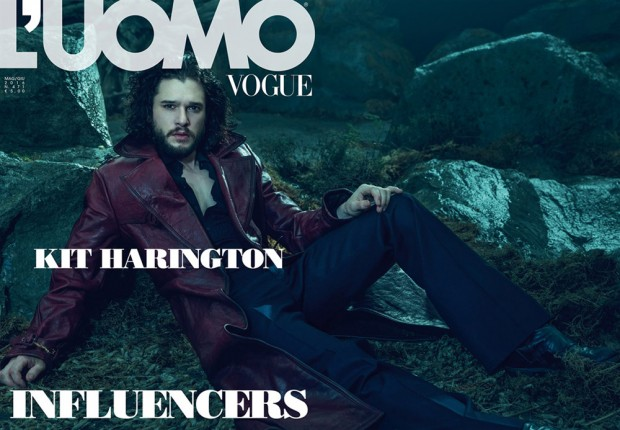 Kit Harington covers L'Uomo Vogue May/June 2016